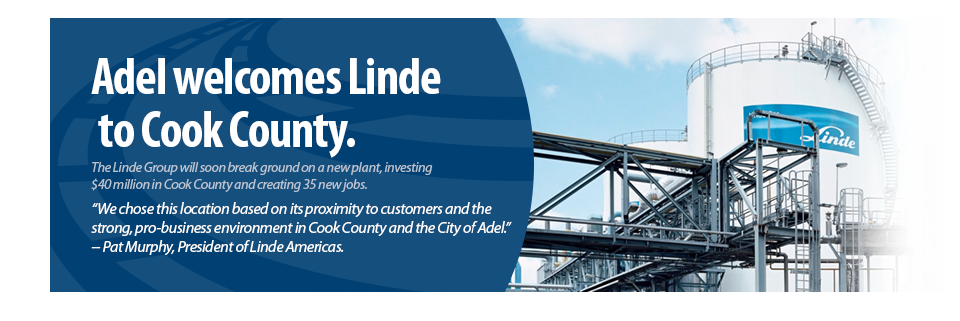 Cook County Linde Announcement